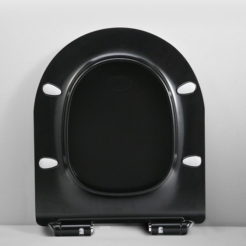 Крышка - сиденье для унитазов ESBANO GARCIA (Черный глянец)